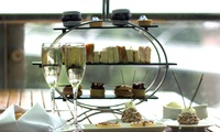 Afternoon Tea with a Glass of Prosecco  for Two or Four at The River Bar & Restaurant at The 5* Lowry Hotel (34% Off)