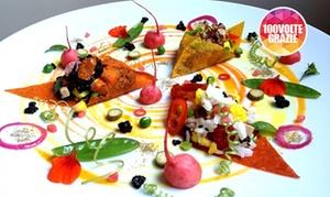 Ristorante Veganfruttariano: Menu Vegano con tris di antipasti, bis di primi, centrifughe, calice di vino bio da Veganfruttariano (sconto fino a 67%)