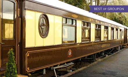 West Sussex: 1 or 2 Nights for Two with Breakfast in Pullman Carriage EnSuite Double Room at The Old Railway Station