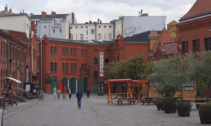 "unter-berlin e.V. - Berlin: 3 Stunden Stadtrundfahrt ""Molle & Korn Tour"" inkl. Bierverkostung für 1 oder 2 Personen mit unter-berlin e.V."