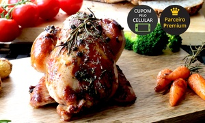 Churrascaria Riosulense: Churrascaria Riosulense – Jd. Atlântico: jantar com galeto e acompanhamentos para 2 pessoas