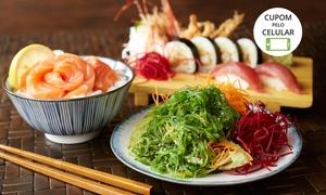 Ydaygorô - São José dos Campos: Rodizio Japonês -Almoço ou jantar para 1 ou 2 pessoas com sobremesa no Ydaygorô - São José dos Campos