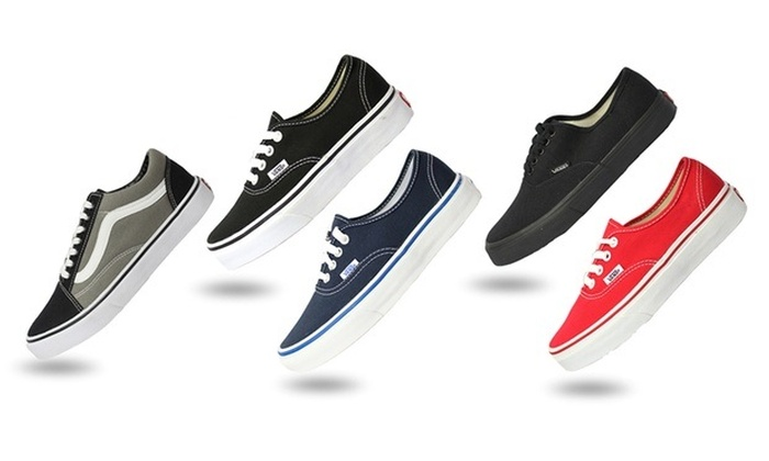 Groupon Goods: From $34 for a Pair of VANS Shoes in Choice of Style and Colour (Don't Pay Up to $119.95)
