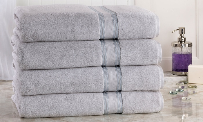 Oversized Bath Sheets Interesting Up To 60% Off On Oversized Bath Sheets 60Pack Groupon Goods