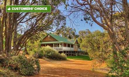 Margaret River Region: 2 to 5 Nights for Two or Four People with Bottle of Wine at Yallingup Forest Resort
