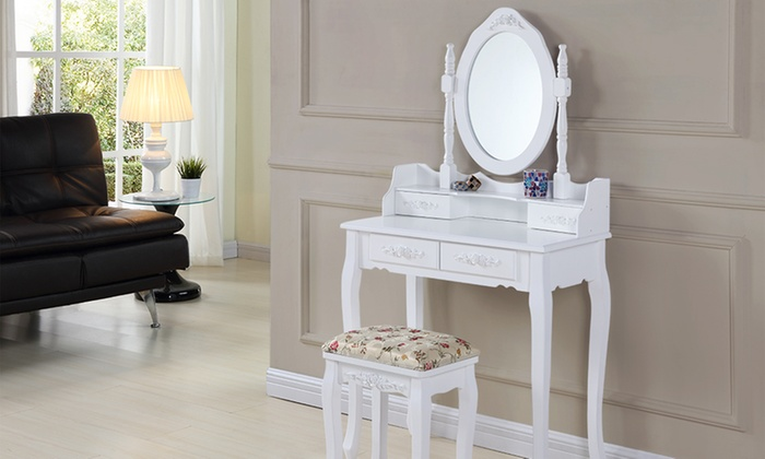 Jessica Wooden Dressing Table from £79.99