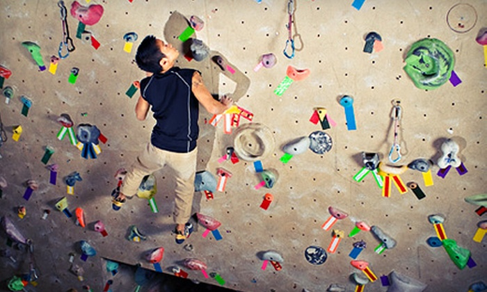 Coastal Climbing Centre - Surrey: One-Month or 10-Visit Beginner Rock-Climbing Package for One or Two at Coastal Climbing Centre (Up to 76% Off)
