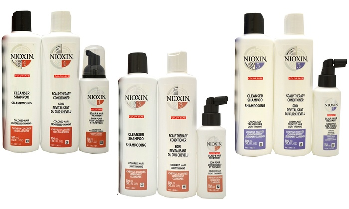 Up To 47% Off on Nioxin 3-Piece Hair System Kit | Groupon Goods