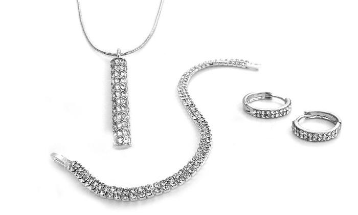 10d07211edf0b9 Gioielli con cristalli Swarovski® | Groupon Goods