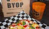 40% Off Build-Your-Own Pizza and Salad at BYOPizza