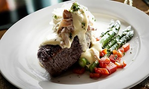 Jaxx Steakhouse: Steakhouse Dinner for Two or Four at Jaxx Steakhouse (Up to 45% Off)