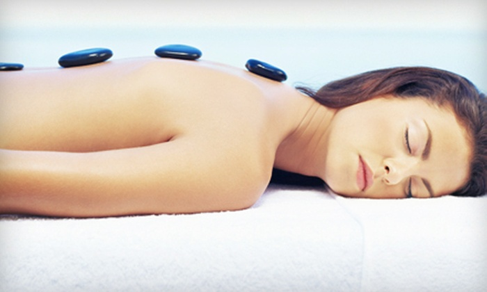 The Retreat Salon and Day Spa - Avery Road Retail Center: One, Three, or Six Upper-Body Massages with Hot-Stone Finish at The Retreat Salon and Day Spa (Up to 67% Off)
