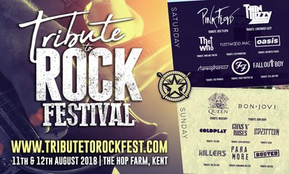 Tribute to Rock Festival, 11–12 August at The Hop Farm (Up to 50% Off)