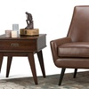 Simpli Home Warhol Mid-Century Accent Chair
