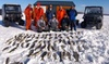 Silver Strike Charter Fishing - Red Smith: 8-Hour Ice-Fishing Excursion for One or Two People from Silver Strike Charter Fishing (Up to 58% Off)