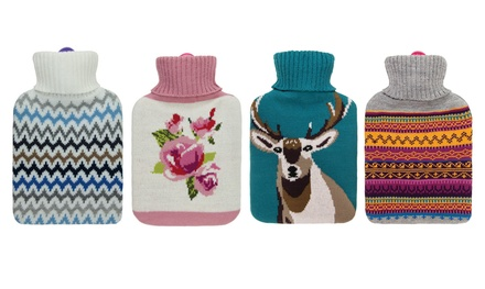 Aroma Home Scent Infusion Knitted Hot Water Bottles in Choice of Design