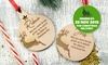 Personalised Christmas Ornaments