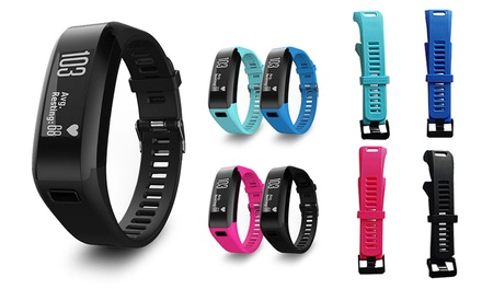 Replacement Band for Garmin Vivosmart Fitness Tracker: One ($9.95) or Two ($15.95)