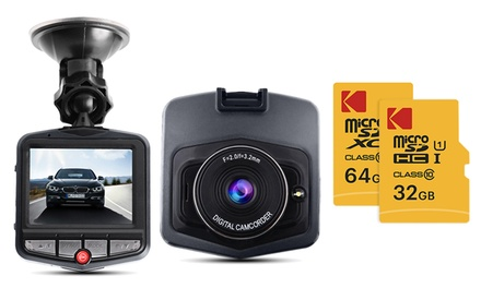 1 o 2 cámaras Aquarius Full HD con opción a tarjeta Kodak para coche