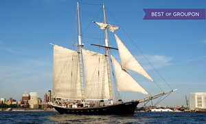 Manhattan By Sail: One or Two Groupons, Each Good for a Craft-Beer Cruise from Manhattan by Sail (Up to 27% Off)
