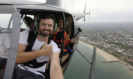 #Airselfie Helicopter Tour: Melbourne $229 or Mornington Peninsula $329 with The Helicopter Group Up to $349 Value