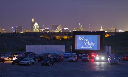 image for Two or Four Walk-In Single-Feature Tickets and Snacks at Blue Starlite Mini Urban Drive-In (Up to 52% Off)