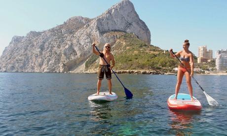 Bautismo de paddle surf para 2, 4, 6 u 8 personas desde 24,95 € en Activa Costa Blanca