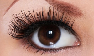 Absolute Lash: Set of Natural Look or Glamour Look Eyelash Extensions at Absolute Lash (Up to 56% Off)