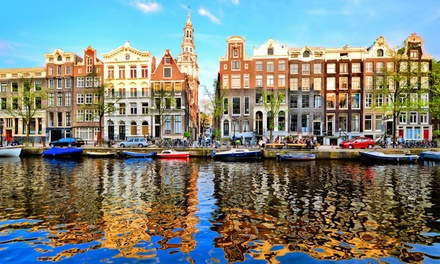 Amsterdam, Bruges and Brussels: 4 or 7 Nights at Choice of Hotels with Eurostar Transfers*