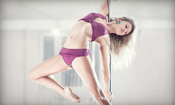 Pole Zone & Aerial Fitness Studio - Norman: $29 for Five Pole and Aerial Fitness Classes at Pole Zone & Aerial Fitness Studio ($60 Value)
