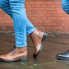 Redfoot Leather Brogue Boots