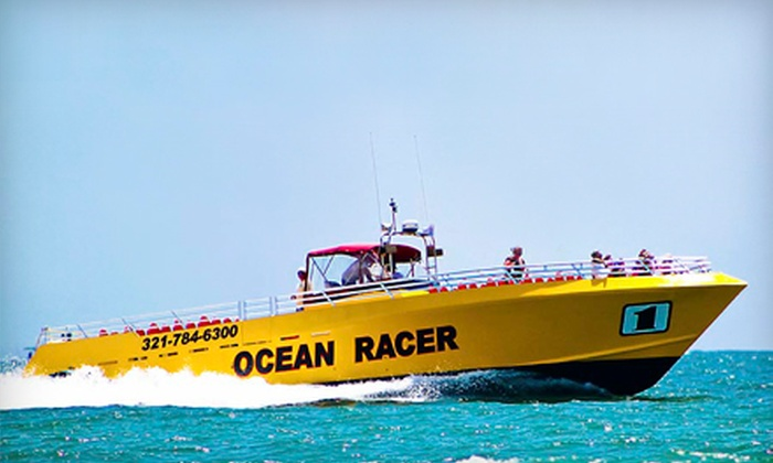 Canaveral Ocean Racer, LLC - Cocoa Beach-Cape Canaveral: 90-Minute Speedboat Ride with Dolphin Watching for One or Two Adults from Canaveral Ocean Racer, LLC (Up to Half Off)