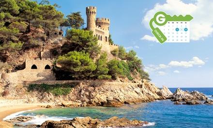 Girona: estancia para 2 en habitación doble con vistas al mar en régimen de media pensión en el Roger de Flor Palace 4*