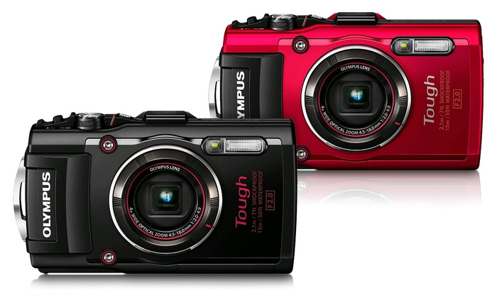 Olympus Tough TG-4 16MP 1080p Waterproof Digital Camera with 4x Optical Zoom and Built-In WiFi