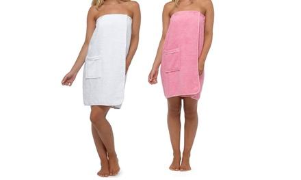 Cotton Shower Wrap