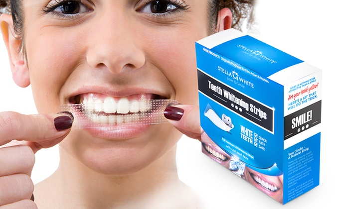 Up to 112 Stella White Teeth Whitening Strips from £7.99