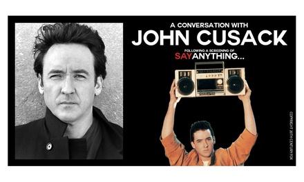 John Cusack Live Plus a Screening of