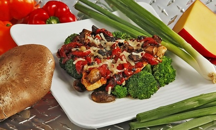 Any Two or Four Menu Items of Your Choice at Muscle Maker Grill (Up to 46% Off)
