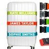 Personalised Luggage Straps
