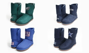 Cuce Shoes Women's NFL Team Colored Boots