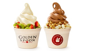 Up to 50% Off Frozen Yogurt at Golden Spoon