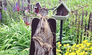 Andercraft Woods: $15 for $30 Towards Wooden Crafts, Birdhouses, and Accessories at Andercraft Woods