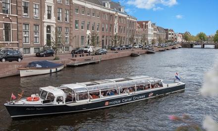 Rondvaart van 50 minuten of 24 uur Hopon Hopoff boot door Haarlem met Smidtje Canal Cruises