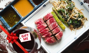 The Rocks Teppanyaki: Lobster Mornay and Tenderloin for One Person ($69) with Wagyu AA9+ ($88) at The Rocks Teppanyaki (Up to $195 Value)