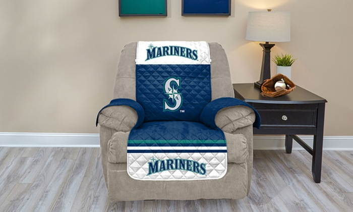 Magnificent Up To 45 Off On Mlb Licensed Furniture Protector Groupon Lamtechconsult Wood Chair Design Ideas Lamtechconsultcom