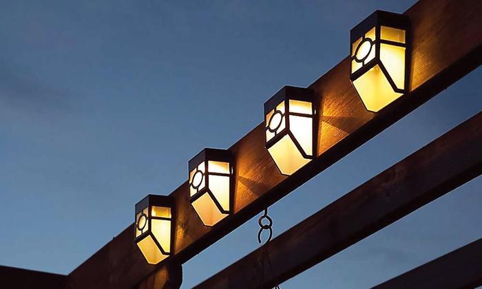 Lamp op batterij/zonne-energie | Groupon Goods