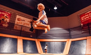 Jump Boxx: One-Hour Trampoline Park Session for Up to Ten Adults or Children at Jump Boxx (Up to 56% Off)