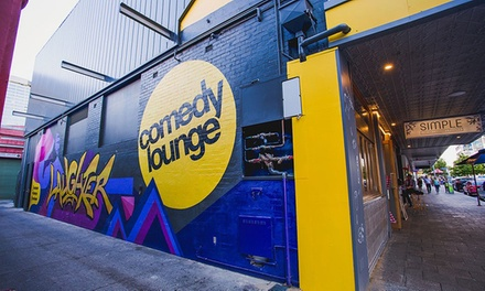 Thursday at Comedy Lounge: 1 Show for 1 ($10), 2 ($20), or 2 Shows for 1 ($15) or 2 Ppl ($30) (Up to $80 Value)