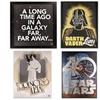 40th Anniversary Star Wars Canvas Art and Shadow Box Art
