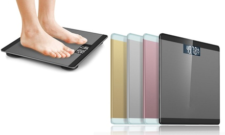 ThreeinOne Metallic Digital Body Scale